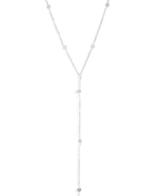 Argento Vivo - Metallic Mirror Station Long Y-necklace - Lyst