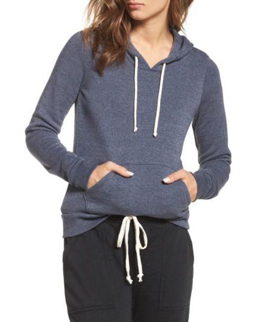 Alternative Apparel | Blue Athletics Pullover Hoodie | Lyst