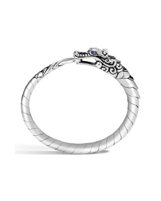 John Hardy Legends Naga Silver Small Bracelet