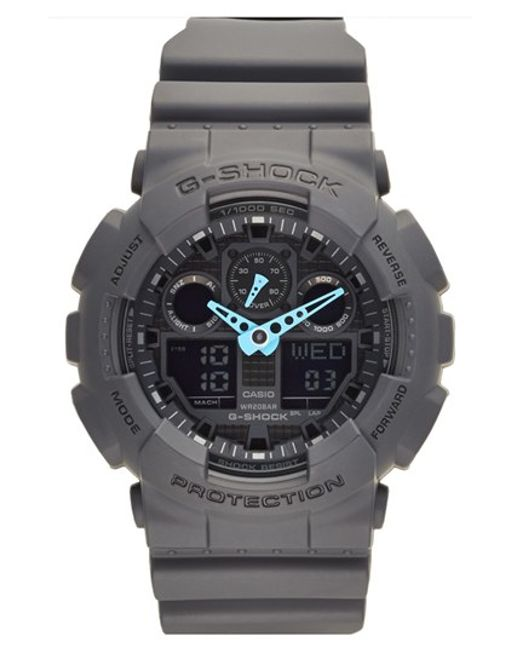 G-Shock | Gray G-shock 'neon Highlights' Ana-digi Watch for Men | Lyst