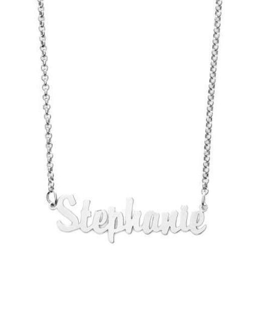 Argento Vivo - Metallic Personalized Script Name Necklace - Lyst