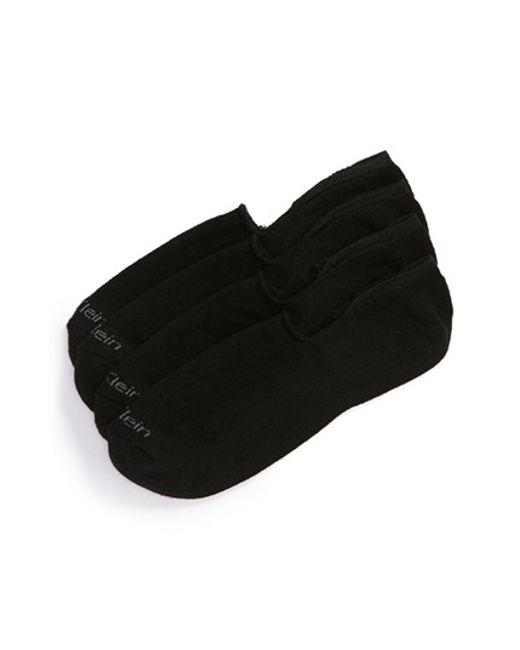 Calvin Klein   2-pack Performance No-show Socks, Black for Men   Lyst