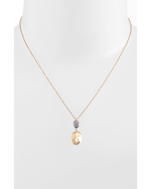Marco Bicego | Yellow 'siviglia' Diamond Pendant Necklace | Lyst