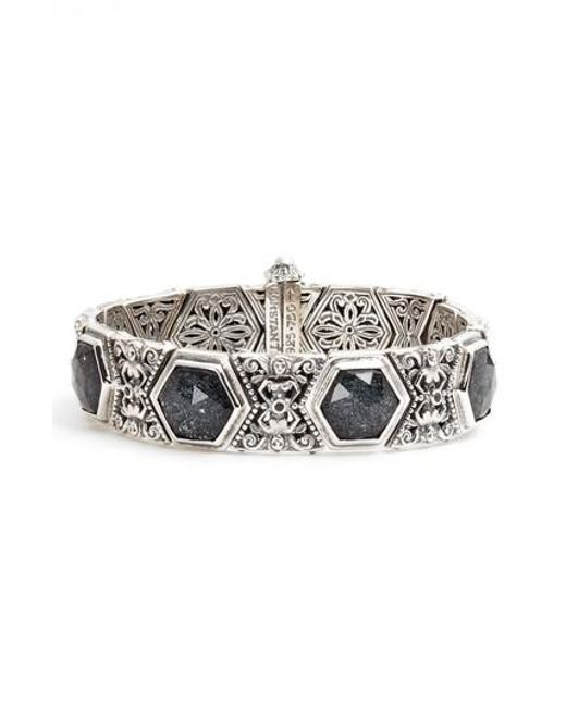 Konstantino   Metallic Santorini Hematite Bracelet   Lyst