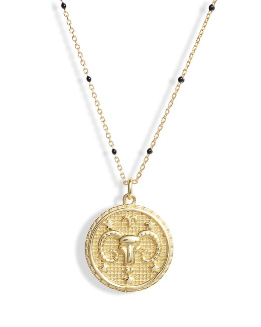 Argento Vivo - Metallic Zodiac Pendant Necklace - Lyst