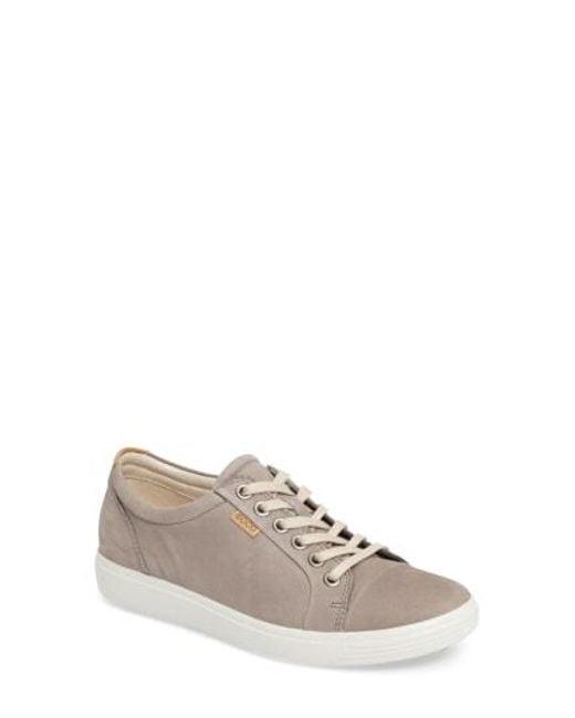 Ecco - Gray Soft 7 Sneaker - Lyst