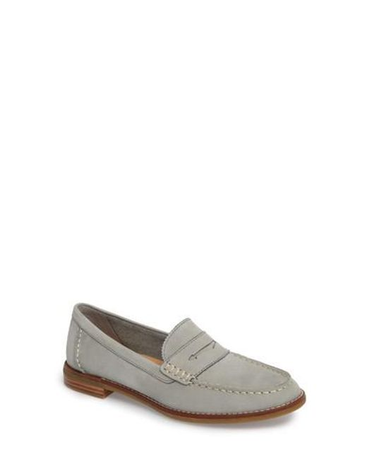Sperry Top-Sider - Gray Seaport Penny Loafer - Lyst