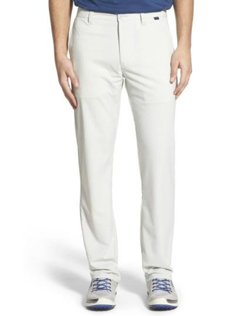 Travis Mathew | Blue 'hough' Trim Fit Golf Pants for Men | Lyst
