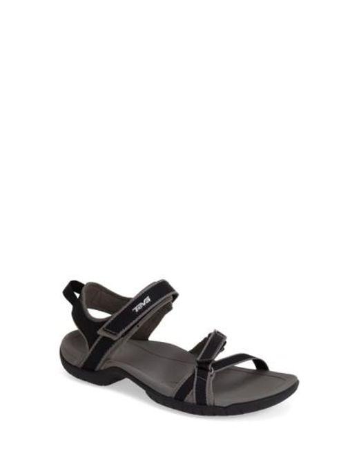 Teva | Black 'Verra' Sandal | Lyst