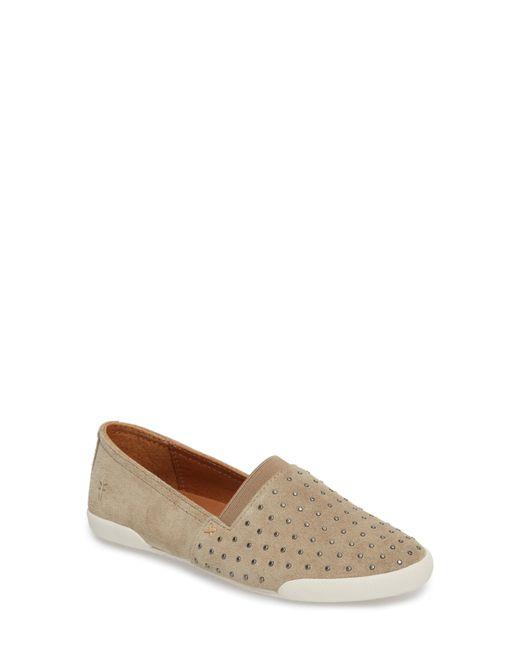 Frye - Brown Melanie Stud Slip-on Sneaker - Lyst