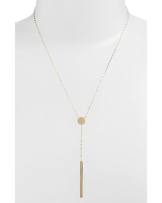 Lana Jewelry | Yellow 'chime' Y-necklace | Lyst