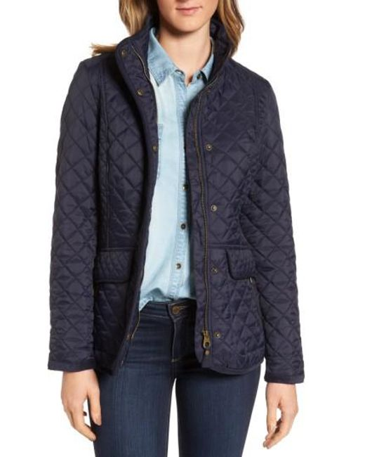 Lyst - Joules Warm Welcome Quilted Jacket in Blue : joules quilted jackets - Adamdwight.com
