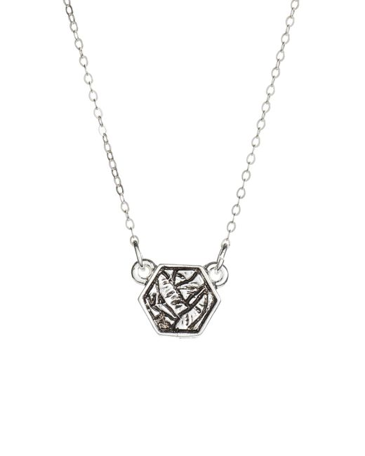 Half United - Metallic Pendant Necklace - Lyst