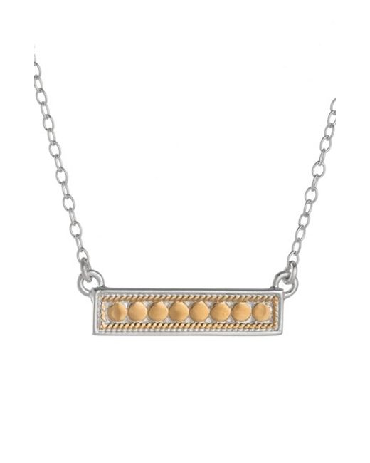 Anna Beck | Metallic 'gili' Bar Pendant Necklace | Lyst