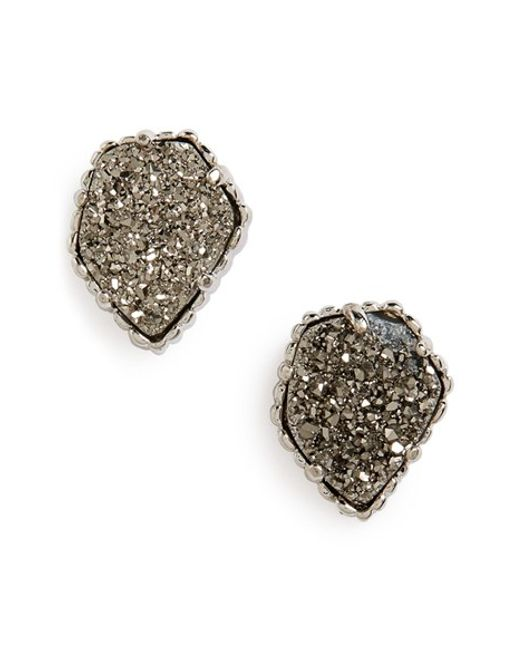 Kendra Scott | Blue Tessa Stone Stud Earrings | Lyst