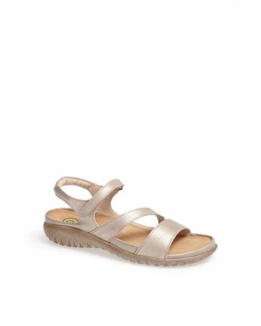 Naot | Natural 'etera' Sandal | Lyst