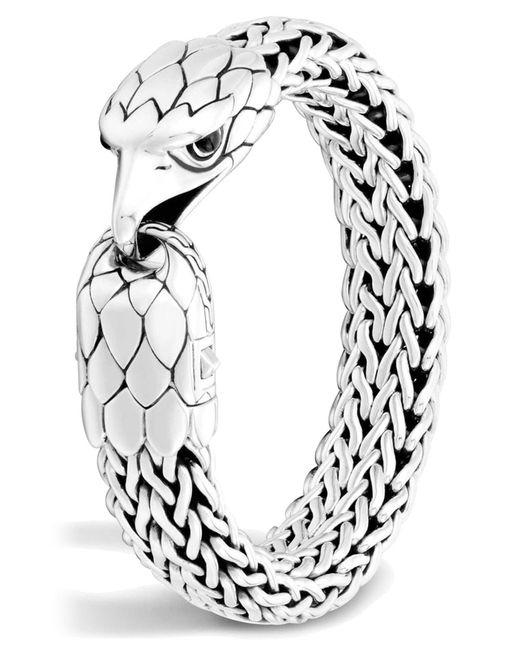 John Hardy - Metallic Men's Legends Eagle Station Bracelet for Men - Lyst