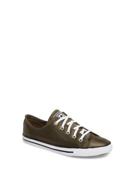 Converse - Multicolor Chuck Taylor All Star 'dainty' Low Top Sneaker - Lyst