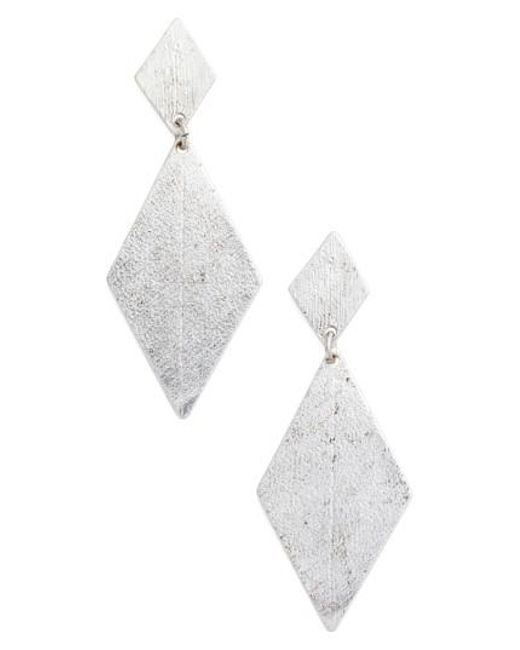 Karine Sultan | Metallic Kite Earrings | Lyst