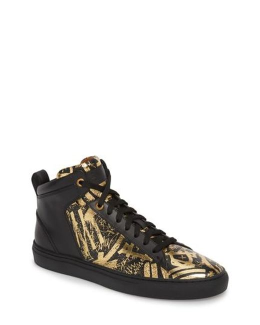Bally - Metallic Hedo High Top Sneaker for Men - Lyst