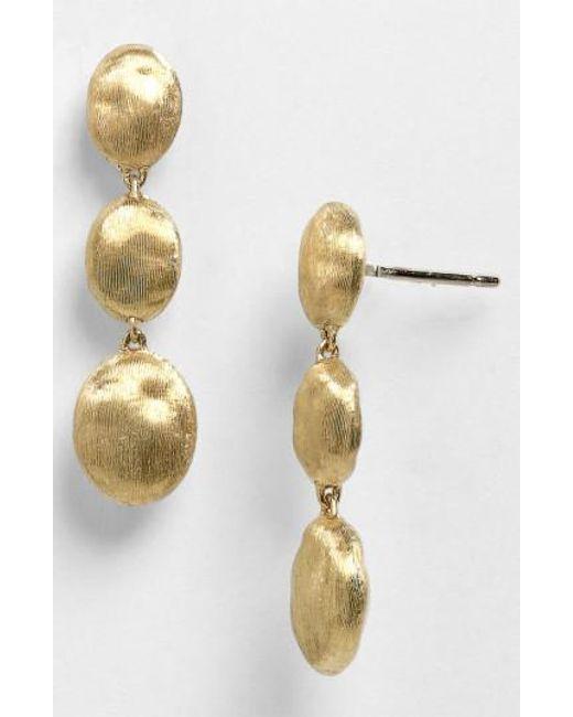 Marco Bicego   Yellow 'siviglia' Drop Earrings   Lyst