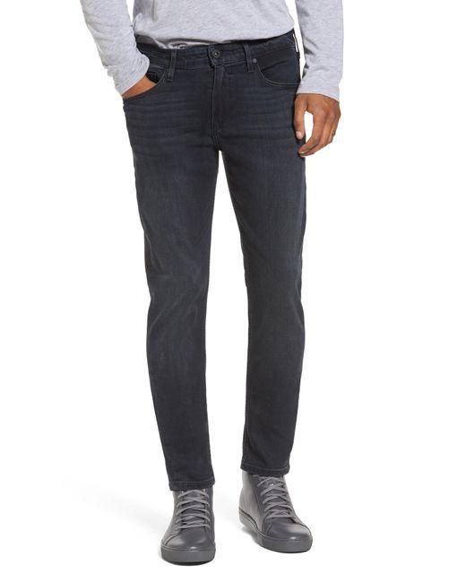 PAIGE - Blue Transcend - Croft Skinny Fit Jeans for Men - Lyst