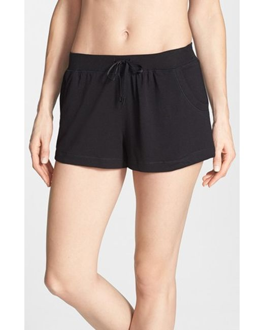 DKNY   Black 'city Essentials' Shorts   Lyst