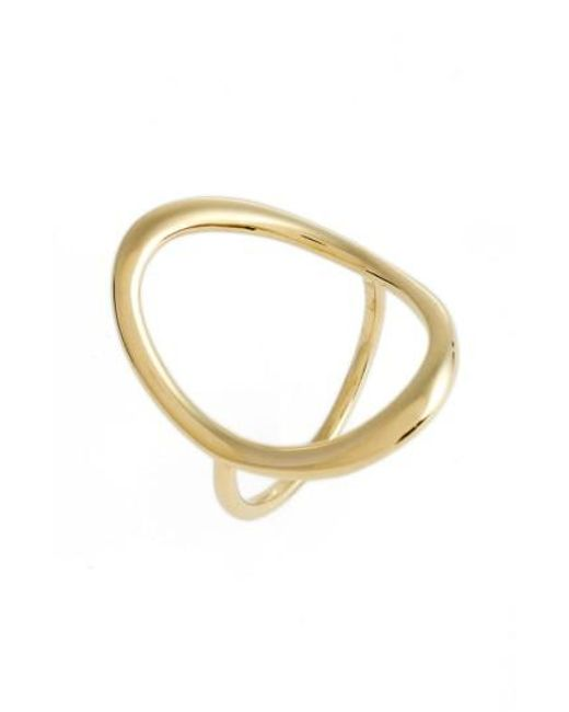 Bony Levy | Metallic Stackable Open Circle Ring (nordstrom Exclusive) | Lyst
