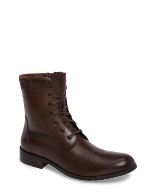 English Laundry | Brown Page Plain Toe Boot | Lyst