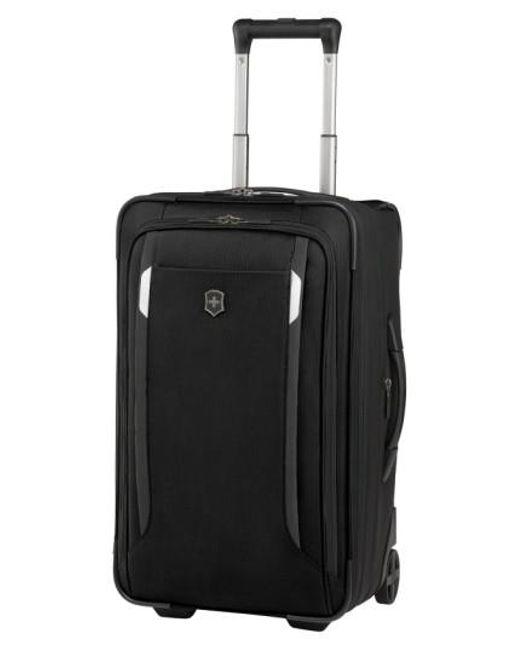 Victorinox | Black Victorinox Swiss Army 'wt 5.0' Wheeled Carry-on for Men | Lyst