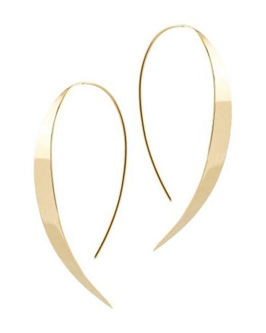 Lana Jewelry - Metallic Small Vanity Threader Hoops - Lyst