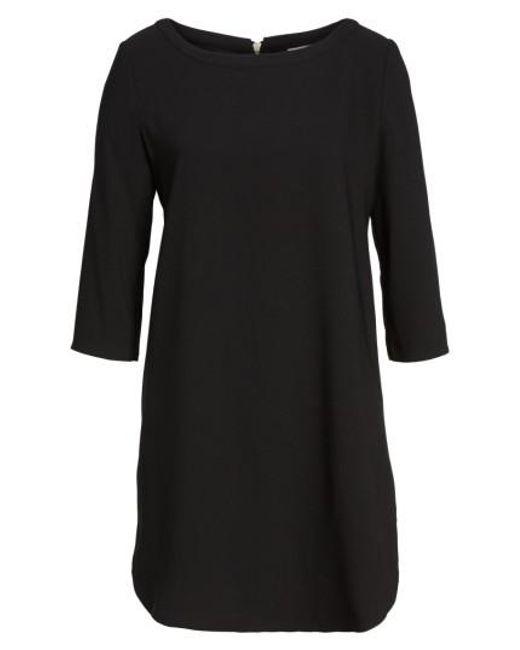 BB Dakota - Black 'jazlyn' Crepe Shift Dress - Lyst