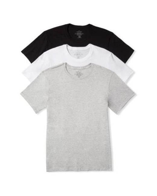 Calvin Klein | White Cotton Crewneck T-shirt, (3-pack) for Men | Lyst