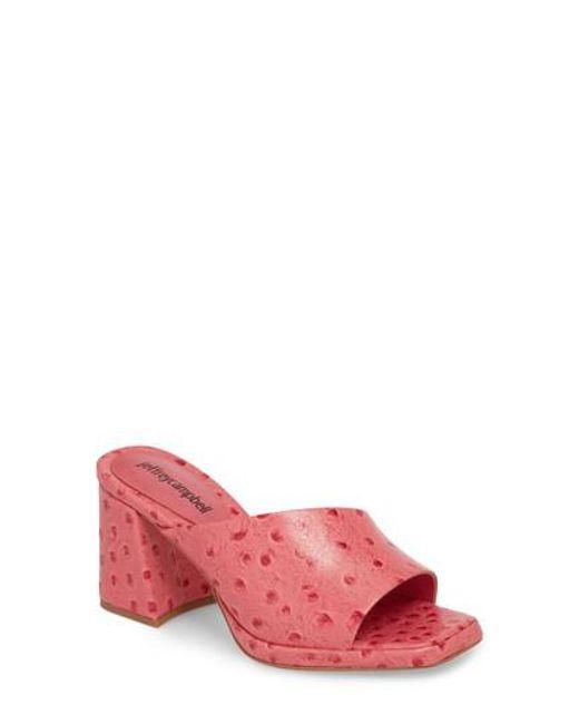Jeffrey Campbell - Pink Suzuci Sandal - Lyst