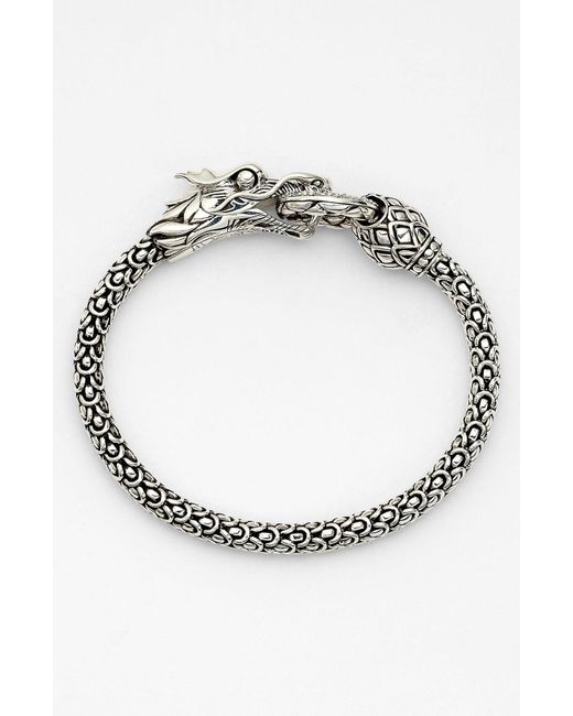 John Hardy - Metallic 'naga' Dragon Bracelet - Lyst