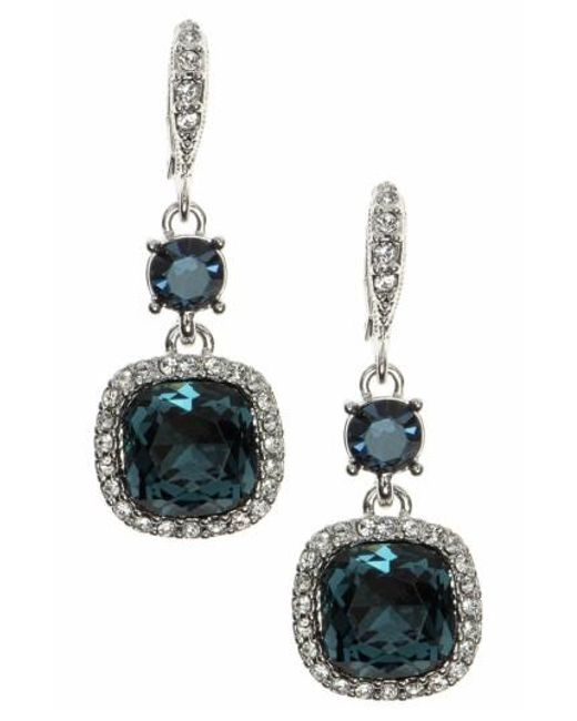Givenchy | Multicolor Crystal Drop Earrings | Lyst