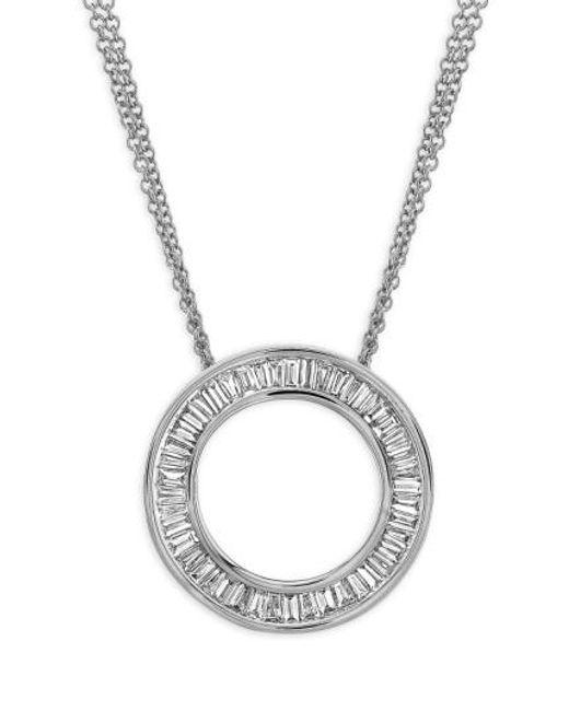 Bony Levy - Metallic 'circle Of Life' Medium Diamond Pendant Necklace - Lyst