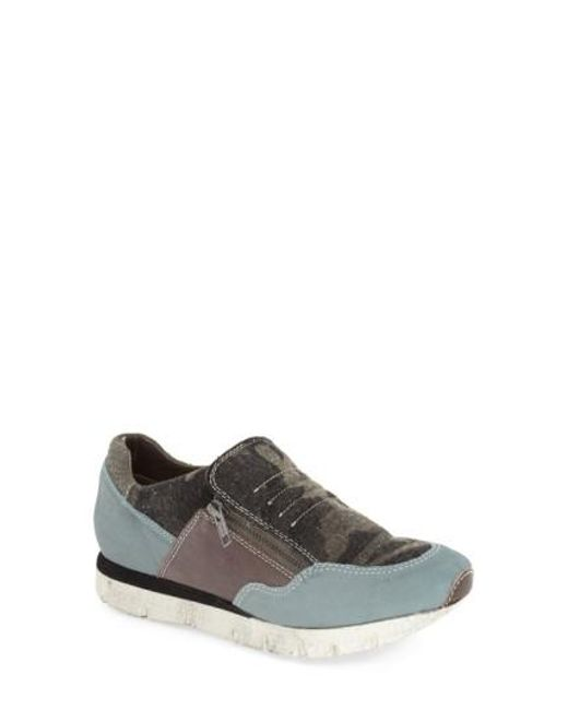 Otbt | Gray Sewell Leather and Suede Sneakers for Men | Lyst