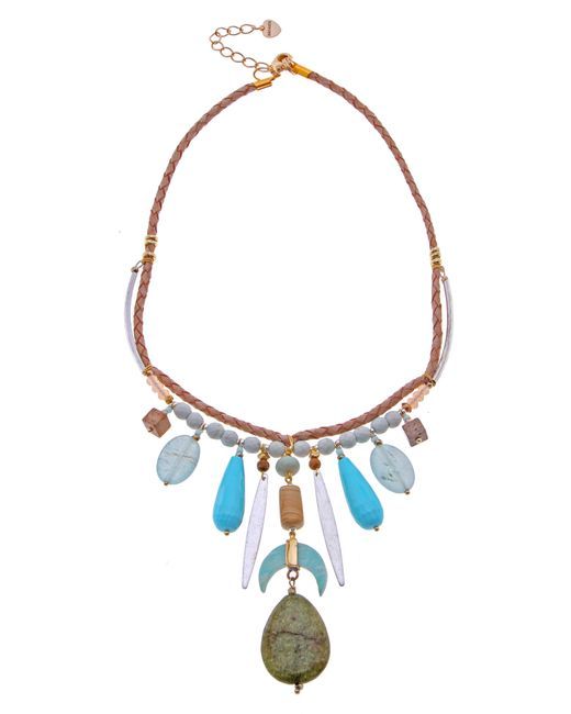 Nakamol - Blue Statement Necklace - Lyst