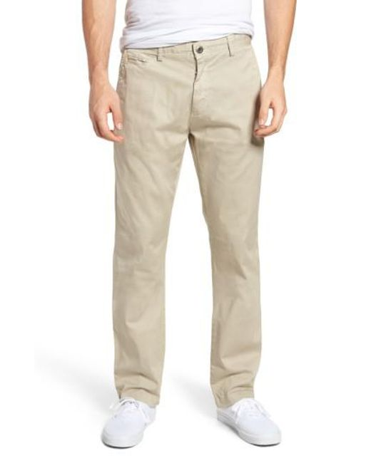 Original Paperbacks - Natural Belmont Stretch Chino Pants for Men - Lyst