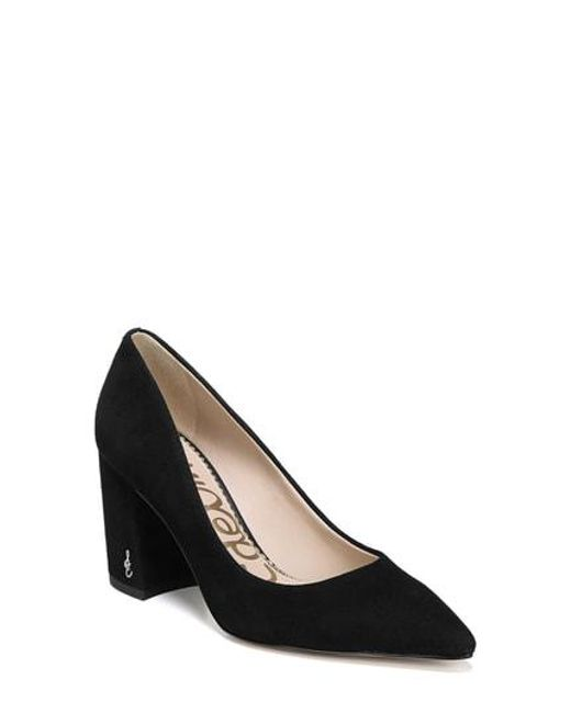 437b46b7fabb Lyst - Sam Edelman Tatiana Pump in Black