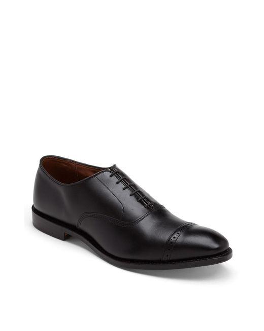 Allen Edmonds - Black 'fifth Avenue' Cap Toe Oxford for Men - Lyst