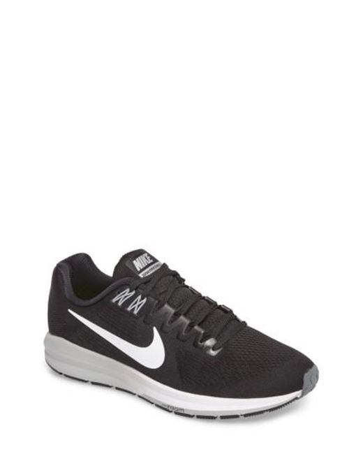 Nike | Black Air Zoom Structure 21 Running Shoe for Men | Lyst