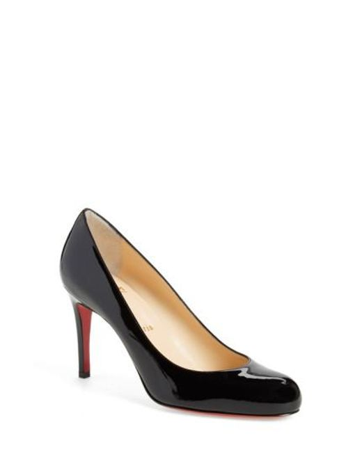 Christian Louboutin - Black Simple Pump - Lyst