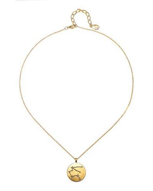 Sequin | Metallic Celestial Pendant Necklace | Lyst