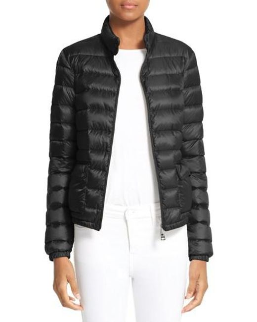 moncler lans jacket black