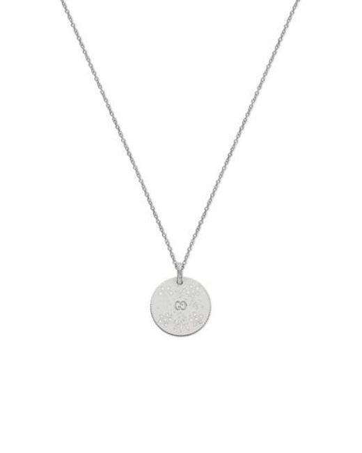 Gucci | Metallic Icon Blooms Pendant Necklace | Lyst