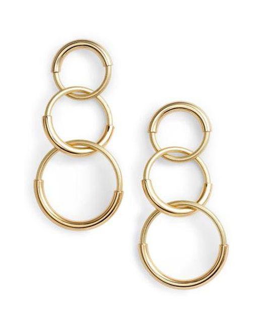 Jenny Bird - Metallic Ossie Drop Earrings - Lyst