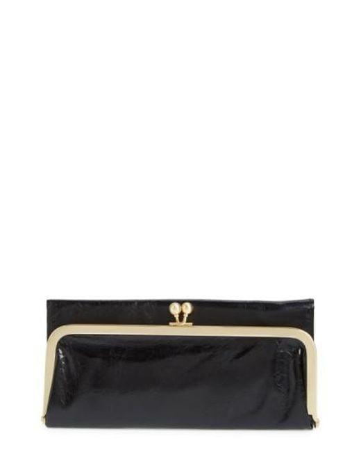 Hobo - Black 'rachel' Frame Wallet - Lyst
