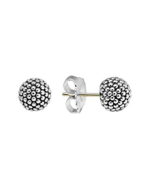 Lagos - Metallic 'columbus Circle' Ball Stud Earrings - Lyst